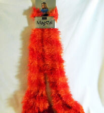Womens Red Lami Magic Scarf NEW Stretch To Wear in Multiple Styles!