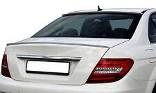 Mercedes Benz C Class Coupe C204 Rear Euro Trunk Spoiler Lip Wing Sport Trim AMG