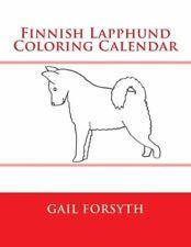 Finnish Lapphund Coloring Calendar