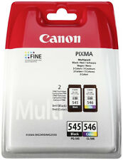 Canon PG-545 CL546 Multi-pack (Black, Cyan, Magenta, Yellow)