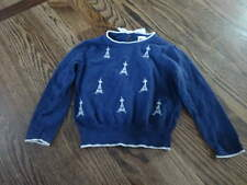 JANIE AND JACK 2T NAVY BLUE  SWEATER STARRY NIGHT