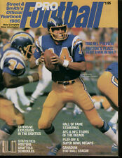Street & Smith's Pro Football Official Yearbook 1980