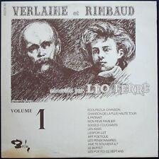 LEO FERRE VERLAINE et RIMBAUD VOLUME 1 LP 33T 30CM / BARCLAY 80.236
