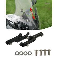 Schwarz Motorrad Windschildverstellung Aluminum Für Honda NC700X NC750X 12-15 XY