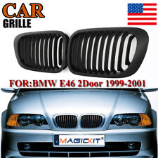 Kidney Sport Grille Grill For BMW E46 3 Series 2 Door 2D Coupe Cabridet 98-02 US