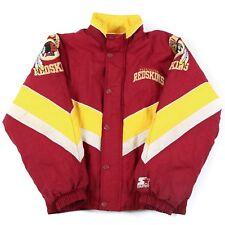 Vintage STARTER Washington Redskins Jacket | Men's XS | Coat Padded Quilted NFL