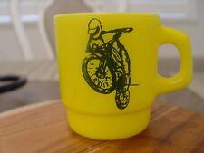 Anchor Hocking Rapid Transit Kawasaki Motorcycles Bike Advertising Coffee Mug