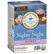 Traditional Medicinals Organic Herbal Tea Bags, Nighty Night Valerian 16 ea
