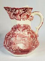 Early (pre -1930's) Mason's Patent Ironstone PITCHER Vista England Cream Syrup