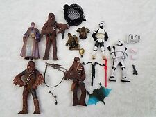 Lot of 6 Star Wars figures loose