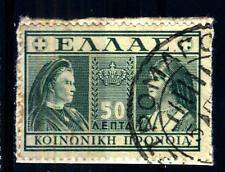 GREECE - GRECIA - 1939 - Regina Olga e Sofia