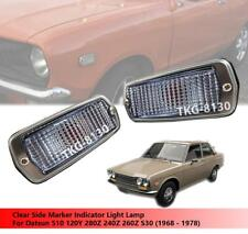 Clear Side Maker Light Use Datsun 510 120Y 280Z 240Z 260Z 1968-1978