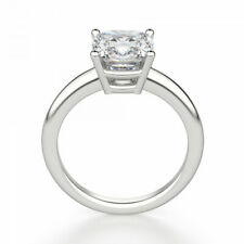 Certified 1.52 Carat D / VS2 Natural Diamond SOLITAIRE Wedding Engagement Ring