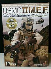 HOT TOYS 1/6 USMC II M.E.F. SPEC. OPS TRAINING GROUP (Tan Flight Suit Ver.)