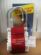 PORTABLE EMERGENCY Fire Escape Window Ladder ALL-SAFE 2 Story Safety  #-101