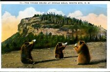 NEW HAMPSHIRE, WHITE MTS., INDIAN HEAD, THE THREE BEARS, UNUSED, (528
