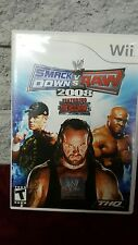 WWE SmackDown vs. Raw 2008 Featuring ECW - Nintendo  Wii Game