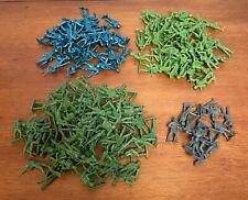 170 Vintage MPC Plastic Soldiers, 4 Colors