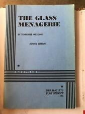 3 Plays The Glass Menagerie Tennessee Williams & 'Night, Mother Marsha Norman