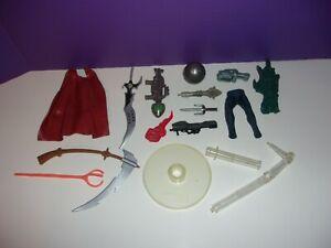 "Lot Vintage 80's 90's Action Figure 6"" 8"" parts Accessories Spawn Marvel FREE SH"