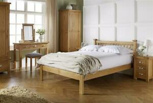 Woburn Rustic Solid Oak Bedroom Furniture Range By Birlea