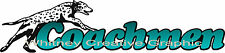 "COACHMEN RV LOGO with Blue Green GRADIENT SHIPPED SAME DAY decal 31""x7.5"""
