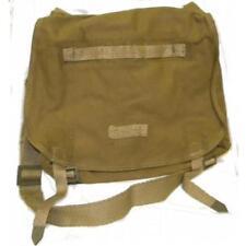 Rare Czech Military Canvas Bread Bag W/Shoulder Strap