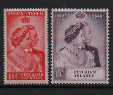 Pitcairn Island 1948 royal silver Wedding unmounted mint MNH set stamps superb