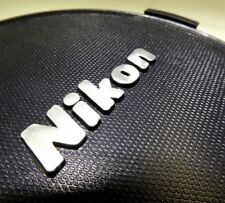 77mm lens front cap with Nikon logo snap on type
