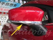 Chrome Side Mirror Strip For Mazda2 Mazda3 BM BN DJ Rearview Trims Accessories