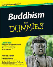 Buddhism For Dummies by Jonathan Landaw, Gudrun Buhnemann, Stephen Bodian (Pape…