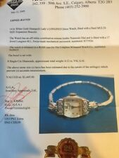 14kt White Gold (Stamped) Ladies LONGINES Dress Watch