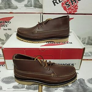 RED WING SHOES 9173 men's leather shoe boot UK 5,5 US 6,5 EUR 38,5 (NEUF)