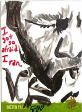 Night of the Living Dead Sketch Card drawn by Ted Dastick Jr /2