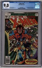 X-Men # 107 CGC 9.0 White Pages 1st Full Appearance Starjammers