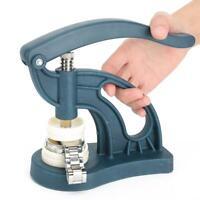 12 Druckplatten Einpresswerkzeug Gehäuseschließer Uhrendeckelpresse Schließer gj