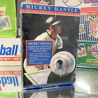 NIB MLB New York Yankees Mickey Mantle Commemorative Baseball Display