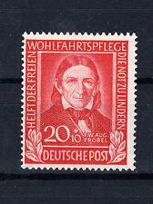 BRD Briefmarken 1949 Helfer der Menschheit Mi.Nr.119 ** postfrisch