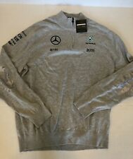 Formula 1 F1 Men's XXL 2XL Sweater AMG Mercedes Petronas Hugo Boss New