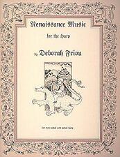 Renaissance Music for the Harp Harp NEW 000720435