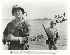 NONE BUT THE BRAVE MOVIE CAST - PRINTED PHOTOGRAPH SIGNED IN INK WITH CO-SIGNERS