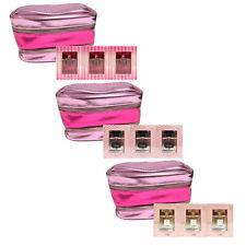 Conjunto De Regalo Victoria's Secret 3 Perfume 1 Fl Oz tren caso bolsa EDP Rocíe vs Nuevo