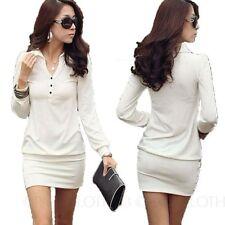 Winter Cotton Blend Machine Washable Dresses for Women