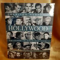 CHARLTON HESTON'S HOLLYWOOD ~ As New ~ FIRST EDITION HC SIGNED BY HESTON + Bonus