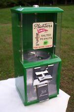 Vintage Northwestern Gabriel Planters Peanut Gumball Machine Coin Op 25 Cent