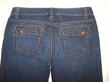 Womens Ann Taylor Modern Fit Lindsay Waist Size 4 Blue Denim Jeans  EUC