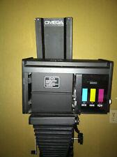 Omega Chromega D 4x5 Color Head Photo Enlarger on Base Plate
