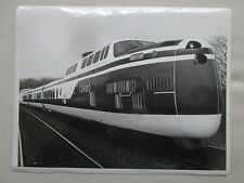 PHOTO DE PRESSE SIKORSKY TURBOTRAIN GAS TURBINE ENGINE TRAIN