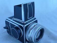 Hasselblad 500C all working Great WLF80mm Planar A-12 Extras