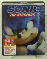 Sonic the Hedgehog Best Buy SteelBook 4k + Blu-ray + Digital